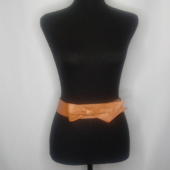 Accessories - Faux leather waist belt